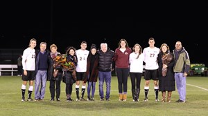 Men's Soccer Senior Night